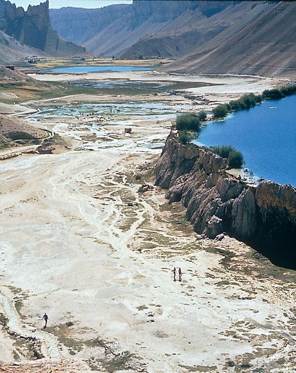 Band-e-Amir-Seenkette, Bamiyan, Afghanistan