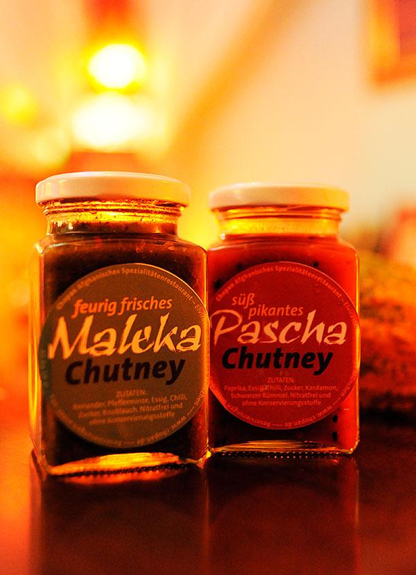 Maleka und Pascha Chutney